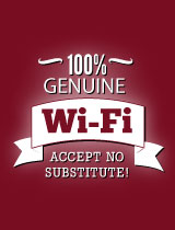 Genuine Wi-Fi!